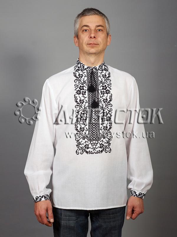 Вишита сорочка хрестиком ЧСВ 48-2