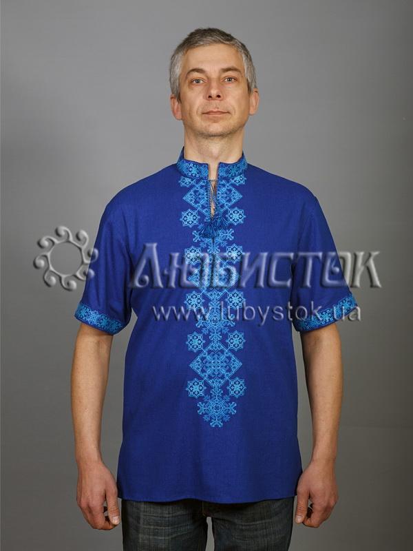 Вишита сорочка хрестиком ЧСВ 49-2
