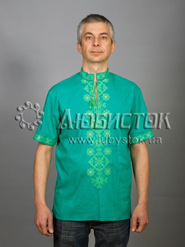 Вишита сорочка хрестиком ЧСВ 49-3