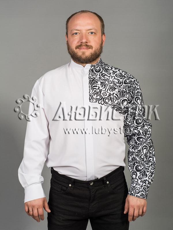 Вишита сорочка хрестиком ЧСВ 55-1