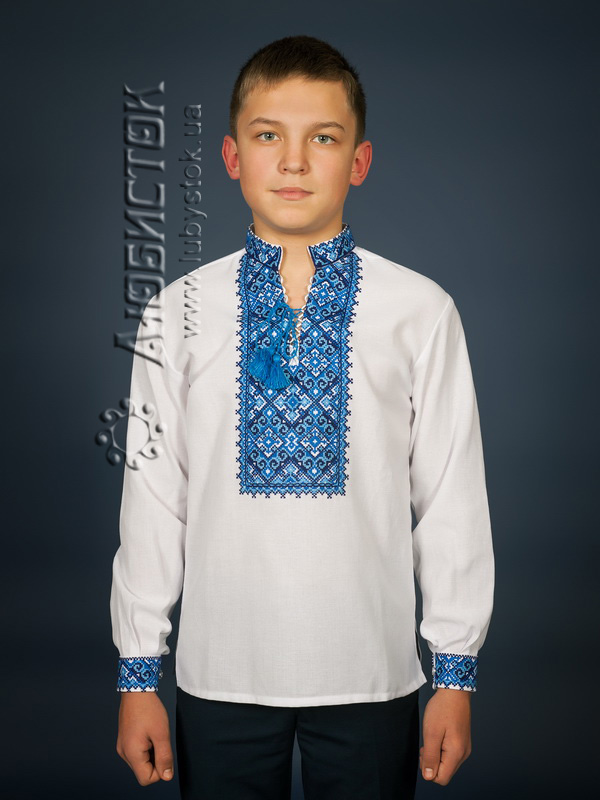 Вишита сорочка хрестиком ЧСВ 15-2-Д
