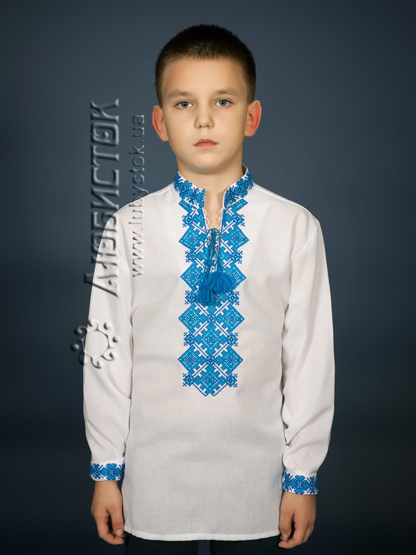 Вишита сорочка хрестиком ЧСВ 16-4-Д