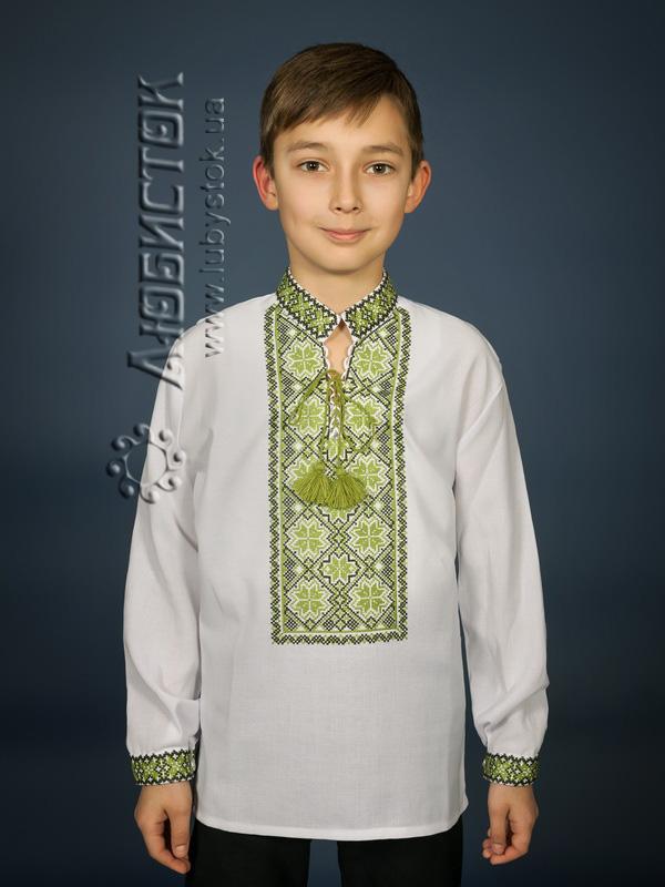 Вишита сорочка хрестиком ЧСВ 17-5-Д