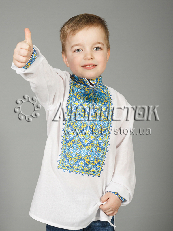 Вишита сорочка хрестиком ЧСВ 29-7-Д