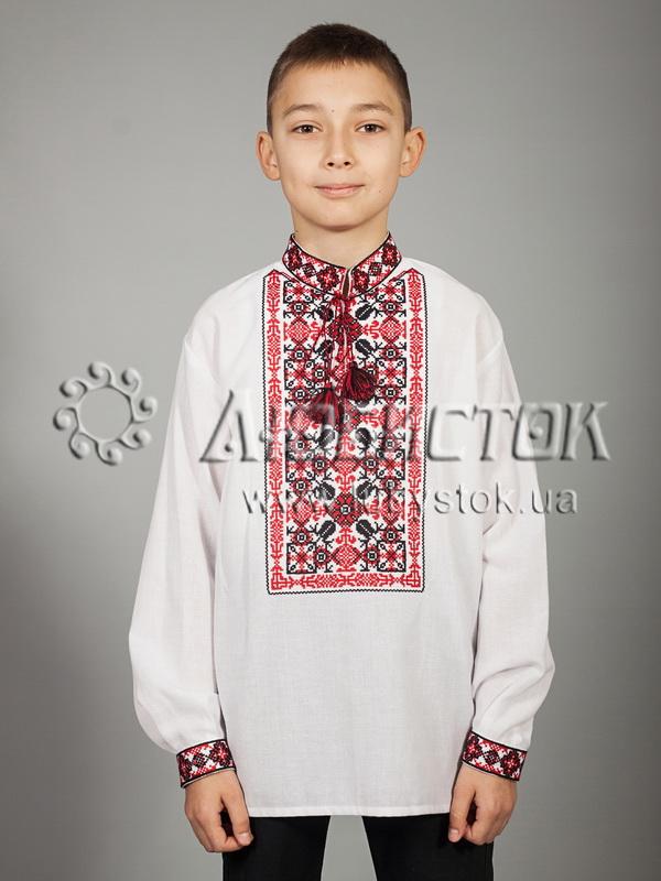 Вишита сорочка хрестиком ЧСВ 44-1-Д