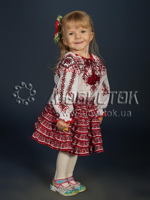 Вишиванка для дівчинки ЖБВ14-1 - купити 5392bda6e19d1