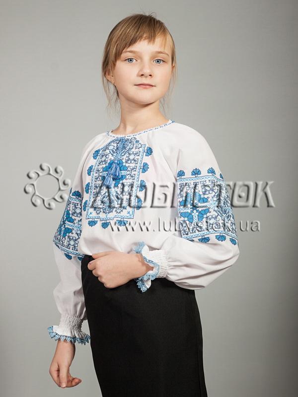 Вишиванка для дівчинки ЖБВ 19-5 - купити 5a4bbedc87856