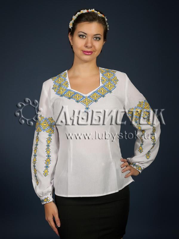 Вишиванка хрестиком жіноча ЖБВ 2-1 - купити 9666309fda8e4