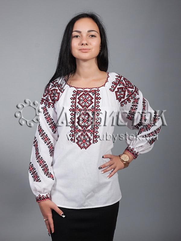 Вишиванка хрестиком жіноча ЖБВ 9-1 - купити 2d4e6fcfb2701