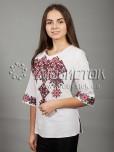 Вишиванка хрестиком жіноча ЖБВ 10-3