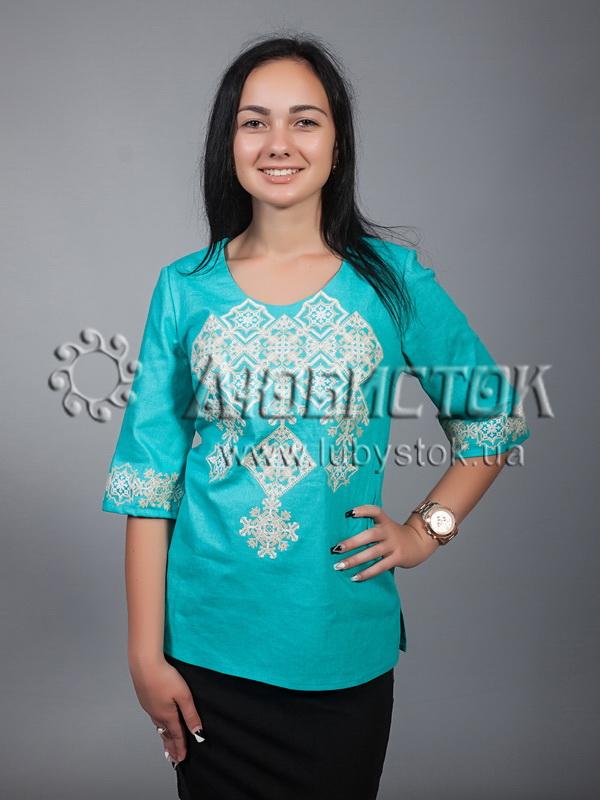 Вишиванка-блуза ЖБВ 10-7