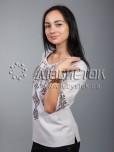 Вишиванка хрестиком жіноча ЖБВ 10-9
