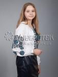 Вишиванка хрестиком жіноча ЖБВ 11-1