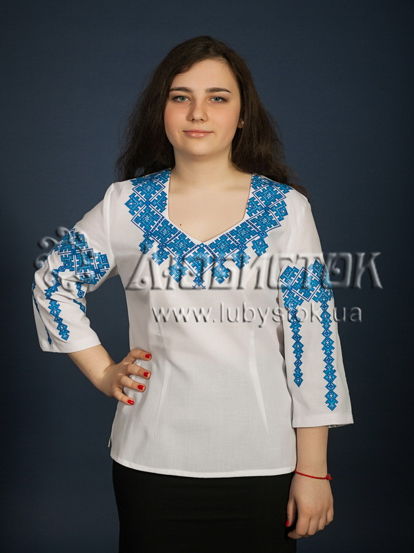 Вишиванка хрестиком жіноча ЖБВ 12-4 - купити ebf027e0208b0