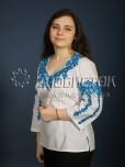 Вишиванка хрестиком жіноча ЖБВ 12-4