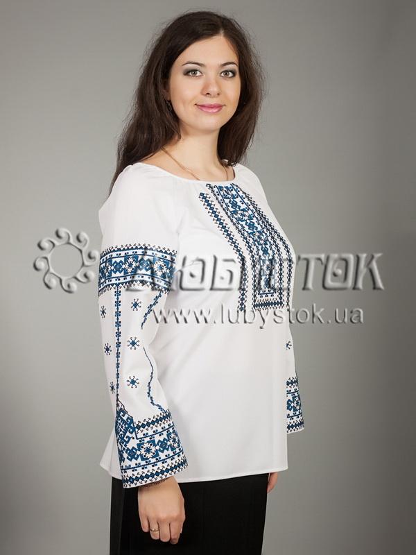 Вишиванка хрестиком жіноча ЖБВ 16-4- купити 19b8dc89f869b