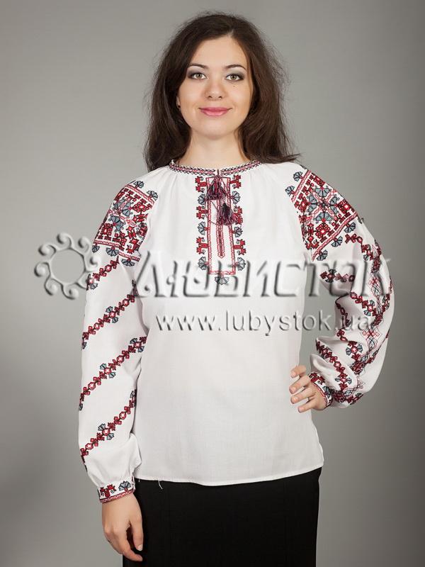 Вишиванка хрестиком жіноча ЖБВ 18-2 - купити 9d625807b0d0c
