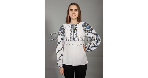 Вишиванка хрестиком жіноча ЖБВ 18-5 - купити 7591354ea9799