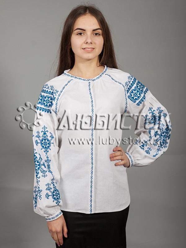 Вишиванка хрестиком жіноча ЖБВ 24-1 - купити d2645bc1372d1