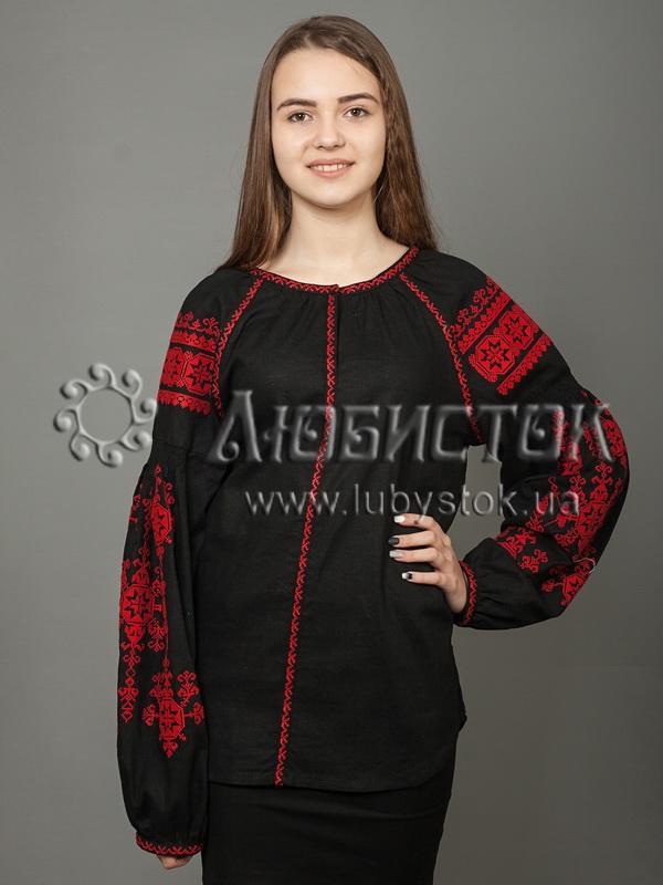 Вишиванка хрестиком жіноча ЖБВ 24-13