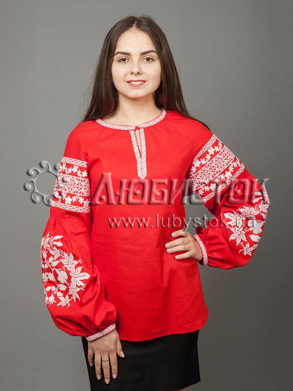 Вишиванка хрестиком дитяча ЖБВ 28-2 - купити 62ed9360204e0
