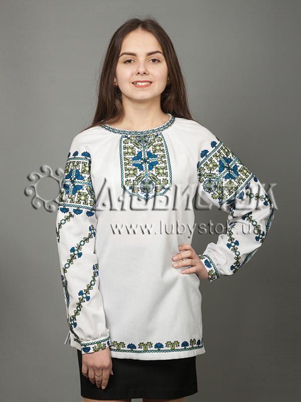 Вишиванка хрестиком жіноча ЖБВ 31-1 - купити 8b92f94b31b67