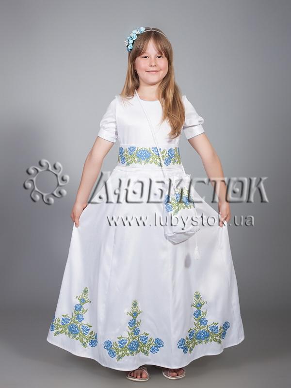 Вишите плаття для дівчинки ЖПВ 13-1 - купити c33837e942496