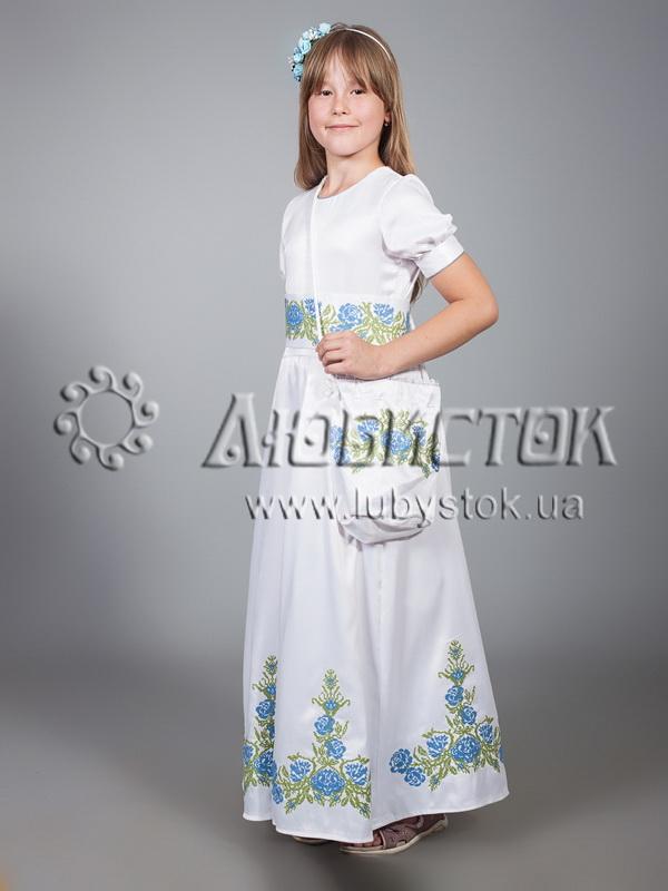 f095087b46aa9a Вишите плаття для дівчинки ЖПВ 13-1 - купити