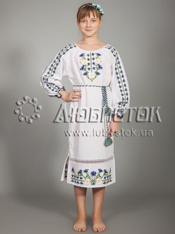 Вишите плаття для дівчинки ЖПВ 14-1 - купити 14dbd0c51a3a0