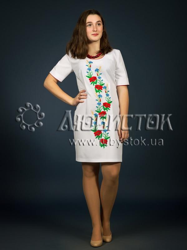 Вишита сукня гладдю ЖПВ 1-1
