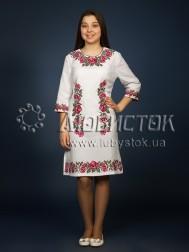 Вишита сукня хрестиком ЖПВ 4-3