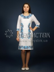 Вишита сукня хрестиком ЖПВ 4-4