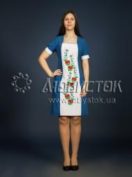 Вишита сукня гладдю ЖПВ 8-1