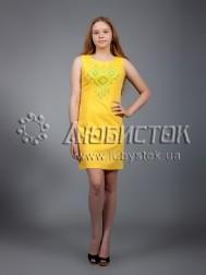 Вишита сукня хрестиком ЖПВ 17-3