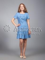 Вишита сукня хрестиком ЖПВ 21-1