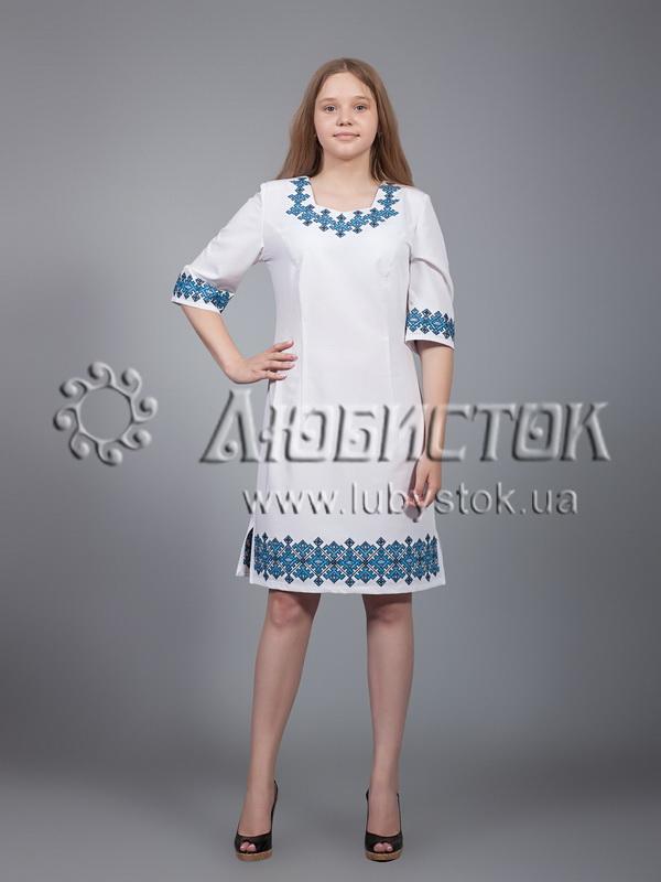 Вишита сукня хрестиком ЖПВ 22-2