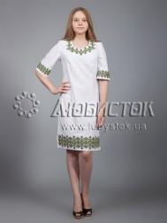 Вишита сукня хрестиком ЖПВ 22-3