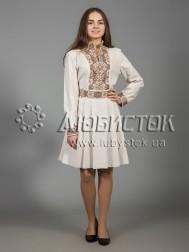 Вишита сукня хрестиком ЖПВ 31-3
