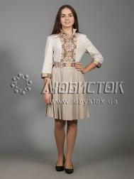 Вишита сукня хрестиком ЖПВ 33-2