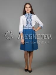 Вишита сукня хрестиком ЖПВ 34-1