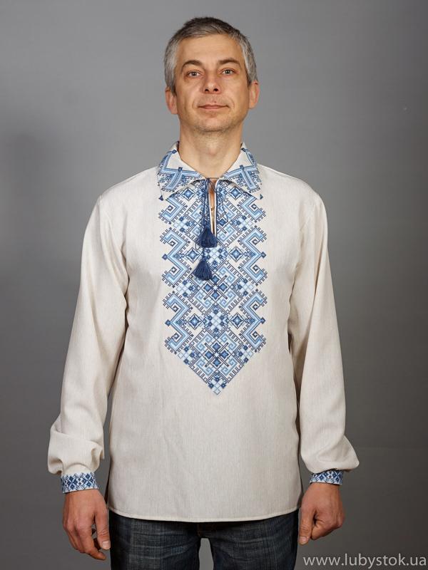 Вишита сорочка хрестиком ЧСВ 24-7L