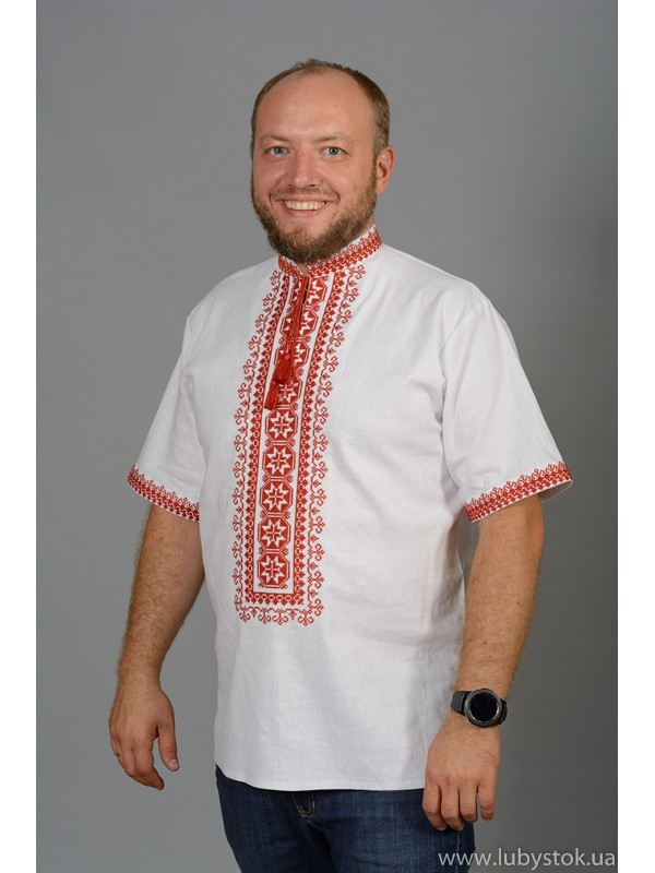 Вишита сорочка хрестиком ЧСВ 57-1