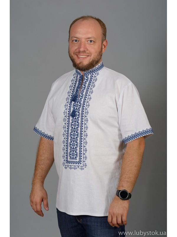 Вишита сорочка хрестиком ЧСВ 57-2