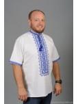 Вишита сорочка хрестиком ЧСВ 57-3