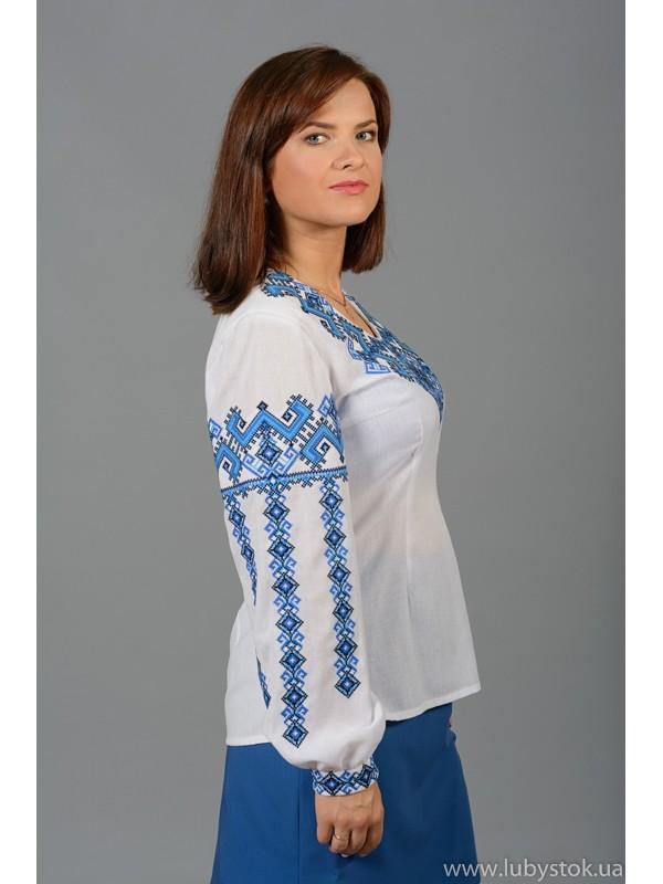 Вишиванка хрестиком жіноча ЖБВ 8-4 - купити 181e802fc95ce