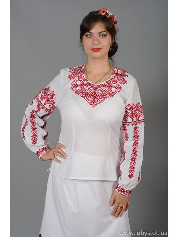 Вишиванка-блуза ЖБВ 8-5