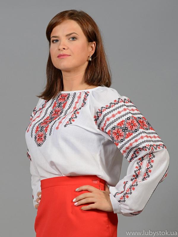 Вишиванка-блуза ЖБВ 34-1
