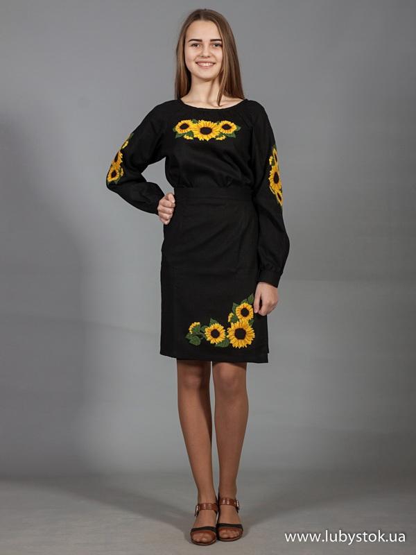 Вишитий жіночий костюм ЖКВ 2-1