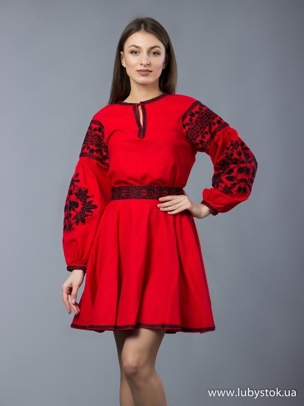 Вишитий жіночий костюм ЖКВ 5-1