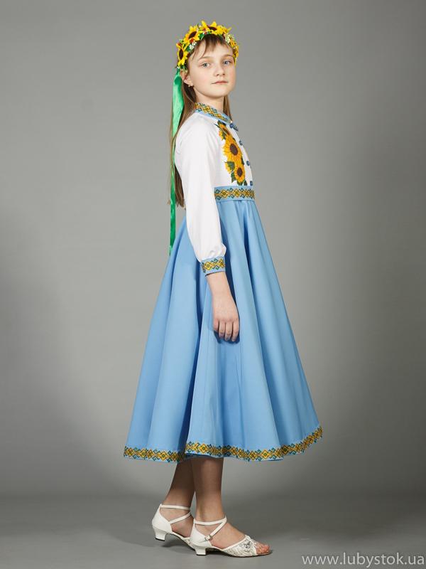 99172b01e1ce5d Вишите плаття для дівчинки ЖПВ 41-1 - купити